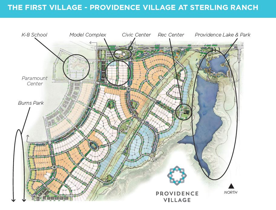 Sterling Ranch Colorado Map.Providence Village Sterling Ranch Map