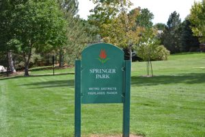 Springer Park - Highlands Ranch, CO